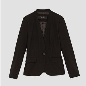 EUC Zara Basic Black Blazer